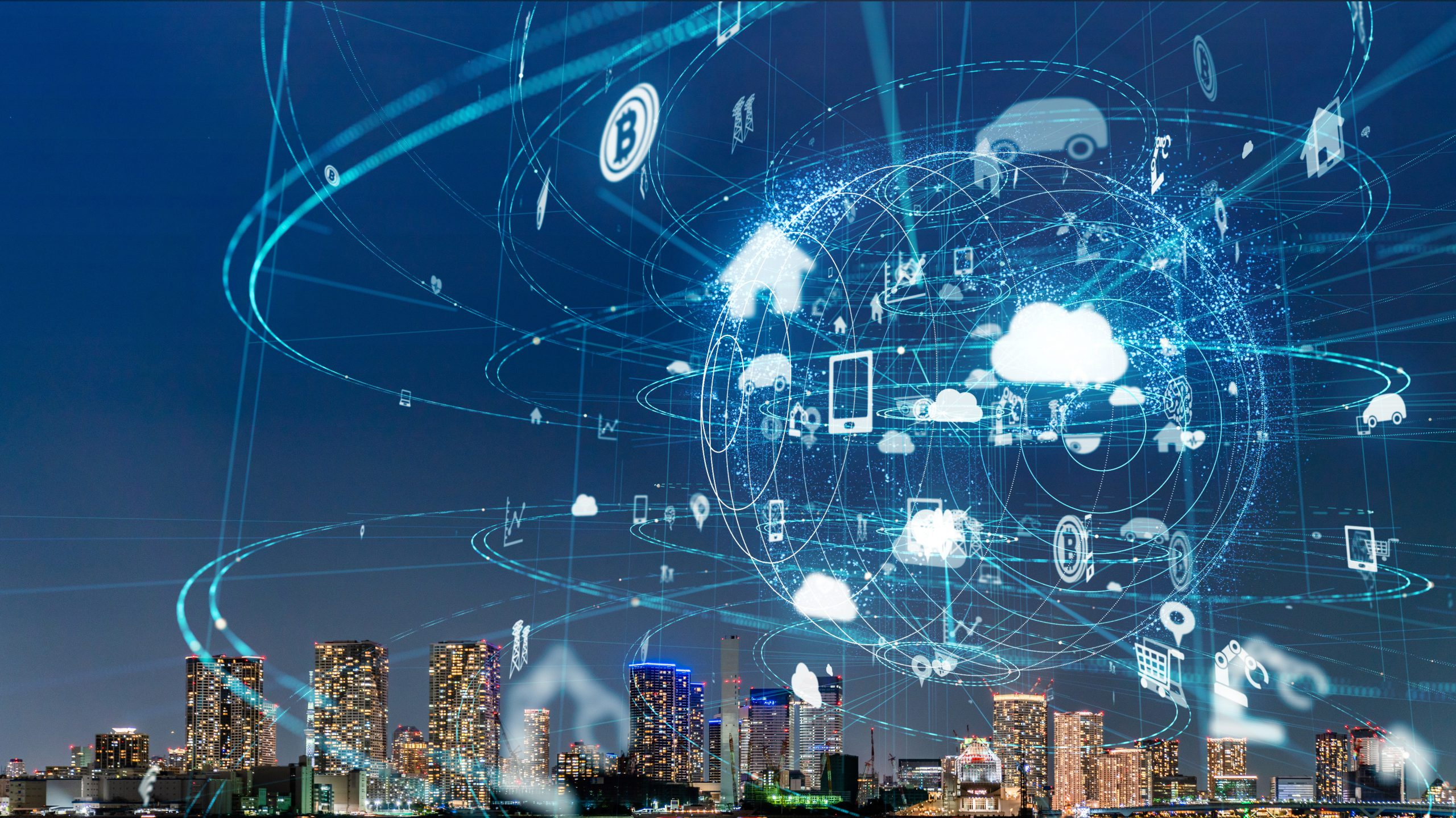 Smart,City,And,Iot,(internet,Of,Things),Concept.,Ict,(information